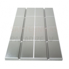 Danfoss (SpeedUp) apsildes panelis ar alumīniju 1000x500x30mm, 250mm CZ