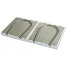 Danfoss (SpeedUp) plāksne ar alumīniju 250x500x30mm (loku) 125mm EZ