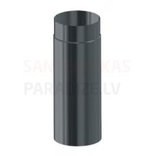 Darco dūmvadu melnā tērauda skursteņa caurule DN80 1m