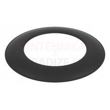 Darco dūmvadu melnā tērauda skursteņa dekoratīvā rozete DN80