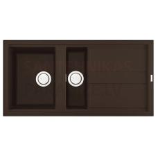 ELLECI akmens masas virtuves izlietne BEST 475 Espresso 100x51 cm