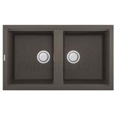 ELLECI akmens masas virtuves izlietne BEST 450 Dove pelēks 86x51 cm