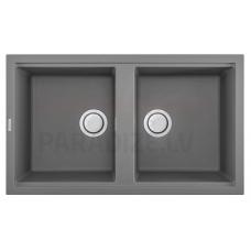 ELLECI akmens masas virtuves izlietne BEST 450 Cemento 86x51 cm