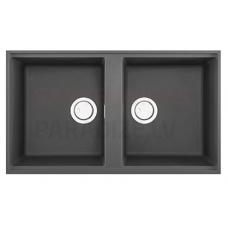 ELLECI akmens masas virtuves izlietne BEST 450 UNDERMOUNT Tumši pelēks 83.6x48.8 cm