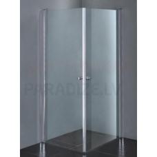 ETOVIS dušas kabīne ET-103 hroms + caurspīdīgs stikls 80x80x190