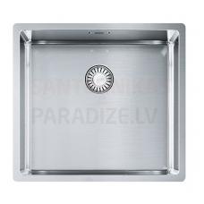 FRANKE nerūsejošā tērauda virtuves izlietne ar pogu BOX 49x45 cm