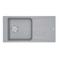 FRANKE akmens masas virtuves izlietne FX Pelēks 100x50 cm