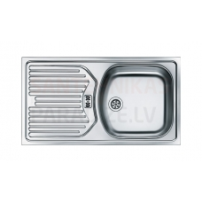 FRANKE nerūsejošā tērauda virtuves izlietne EUROSTAR 78x43.5 cm