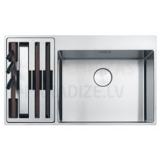 FRANKE nerūsejošā tērauda virtuves izlietne BOX CENTRE 86x51 cm