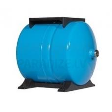 PUMPLUS spiedkatls 24 litri horizontāls 3 gadu garantija