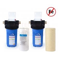 Ūdens atdzelžošanas filtru komplekts 10 Big Blue