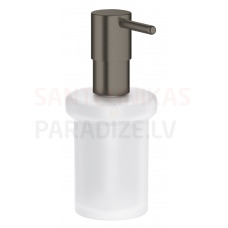 GROHE škidro ziepju trauks Essentials New (Brushed Hard Graphite)