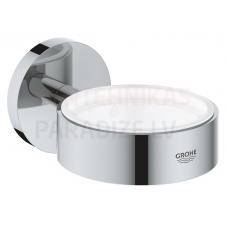 GROHE glāzes/ziepju trauka turētājs Essentials New (Hroms)