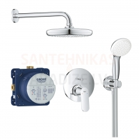 GROHE built-in shower faucet Eurosmart Cosmo with shower Tempesta 210