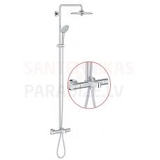 GROHE dušas sistēma ar vannas termostatu EUPHORIA SYSTEM 260