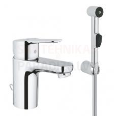 GROHE izlietnes jaucējkrāns ar higiēnas dušu BauEdge