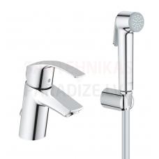 GROHE izlietnes jaucējkrāns ar higiēnas dušu Eurosmart New S