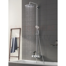 GROHE dušas sistēma ar termostatu SmartControl EUPHORIA Duo 310 (chroms/balts)
