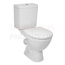 JIKA WC tualetes pods LYRA PLUS bez vāka (45° izvads) ūdens pievāds no apakšas