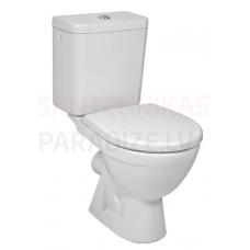 JIKA WC tualetes pods LYRA PLUS bez vāka (horizontalais izvads)