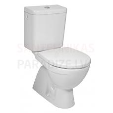 JIKA WC tualetes pods LYRA PLUS bez vāka (vertikalais izvads)