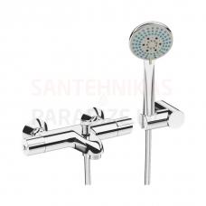 Deep termostats vannai, ar dušas garnitūru
