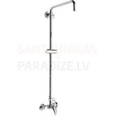 Lyra dušas sistēma, ar regulējamu augstumu