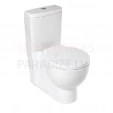 KIROVIT OLIMP tualeta pods 3/6 Rimfree, ar soft close vāku