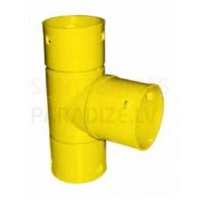 Magnaplast drenāžas kanalizācijas atzars (trejgabals) Ø  50/50 mm