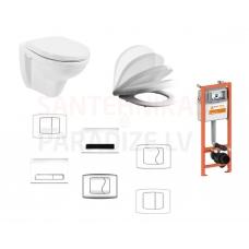 KFA FAN/SELLA piekaramā WC poda komplekts