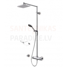Oras thermostatic shower faucet with shower set OPTIMA 7192U