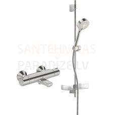 Oras termostata vannas jaucējkrāns ar dušas komplektu NOVA