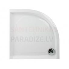 PAA CLASSIC RO 90 R550 akmens masas dušas paliktnis ar paneli 900x900