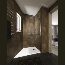 PAA CRAFT akmens masas dušas paliktnis ar paneli  900-1000x800