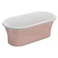 POLIMAT brīvi stāvoša akrila vanna AMONA NEW 150x75 (rozā) + sifons
