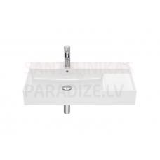 Izlietne Inspira Unik, 800x490 mm, balta Fineceramic®