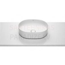 Izlietne Inspira Round, 500x370 mm, balta Fineceramic®