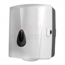 SANELA turētājs papīra dvieļu ruļļiem, materiāls – balta ABS plastmasa