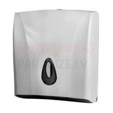 SANELA papīra dvieļu turētājs, materiāls – balta ABS plastmasa