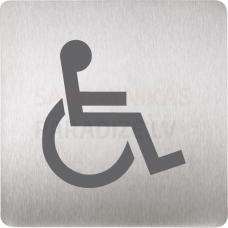 SANELA plāksnīte – tualete invalīdiem