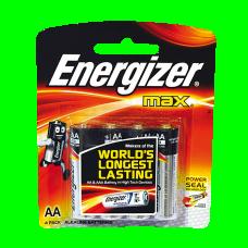 SANELA 4 sārmu baterijas, 1,5V АА 2700 mA/st.