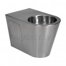 SANELA nerūsējošā piekaramais tualetes pods (vertikalais izvads grīdā)