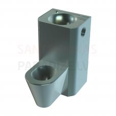 SANELA PIEZO piekarama tualetes poda komplekts ar izlietni, 24V