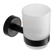 SANELA glāze ar nerūsējošā tērauda turētāju SLZD 12N