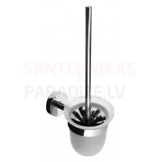 SANELA tualetes birste ar nerūsējošā tērauda turētāju SLZD 24