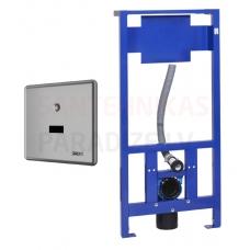 SANELA automātiskās tualetes skalošanas komplekts ar rāmi SLW 10NKB