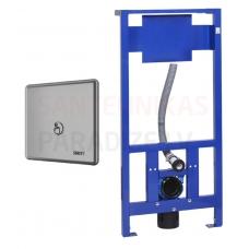 SANELA automātiskās tualetes skalošanas komplekts ar rāmi SLW 01PB
