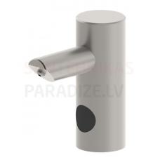 SANELA automātiskais nerūsējošais ziepju dozators uzstādīšanai uz galda virsas, 1 l ziepju tvertne, 24 V