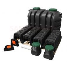 Notekūdeņu attīrīšanas iekārta individuālām mājām EPURBLOC 2500 (W-070) izmērs: 1900x1190x1550