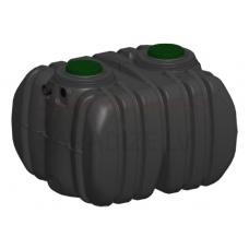 Nosēdtvertne septiķis ar iebūvētu filtru EPURBLOC  4000 izmērs: 2045x1850x1545